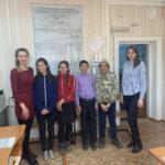 Учащиеся 7 «г» класса 8 апреля 2021 года посетили ОГКУ «Центр занятости населения» Осинского района